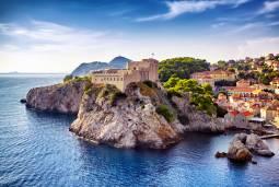 南欧の蒼い海 絶景紀行 ~クロアチア・ドブロヴニクとギリシャ・サントリーニ島~ 現地8日間