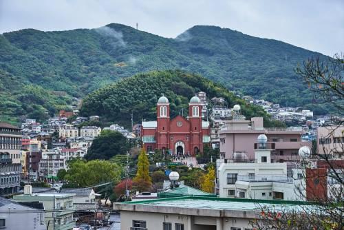 Nagasaki, ville japonaise aux influences européennes
