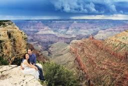 アメリカで欲張りハネムーン(新婚旅行)♡結婚式&グランドサークルで結婚写真撮影3日♡~グランドキャニオン・モニュメントバレー・セドナ~現地7日間