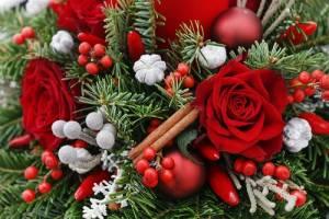 ミダフテン城のクリスマスデコレーション