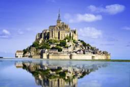 憧れのフランス&ギリシャ2か国周遊 ~世界遺産モンサンミッシェルとエーゲ海の宝石ミコノス島&サントリーニ島~ 現地8日間