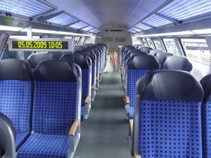 鉄道座席についての質問