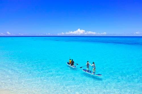 Les plus belles plages du Japon sur l'île de Miyako-jima