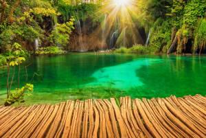 クロアチア観光/旅行【最新情報】クロアチアテレビ番組情報 「エメラルドの庭園 プリトヴィッチェ」