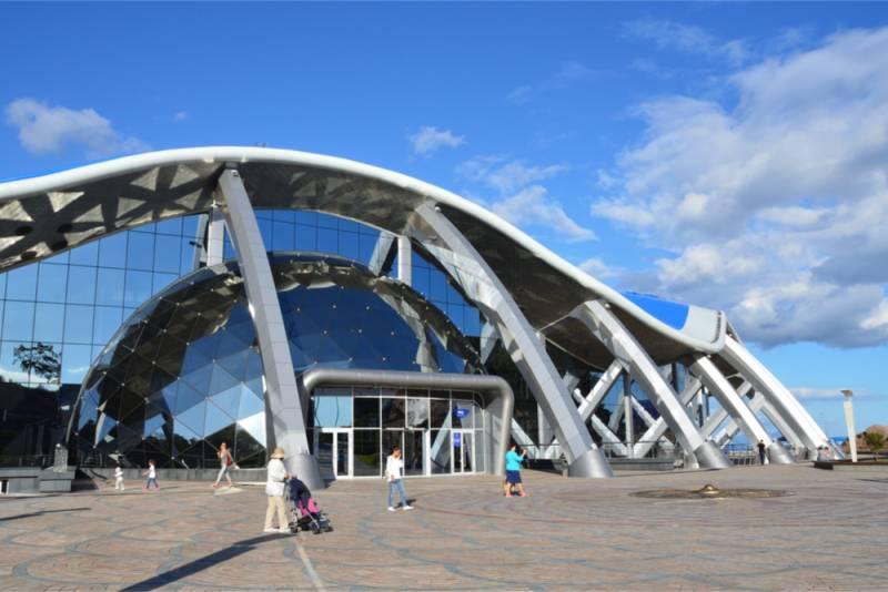 一番近いヨーロッパ、ウラジオストクのクールな水族館