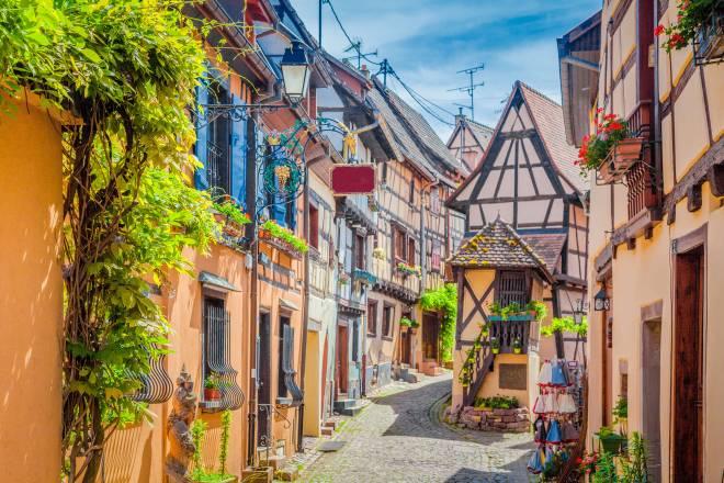 フランスの最も美しい村を巡る