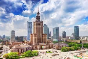 スターリンからの贈り物:文化科学宮殿【ポーランド情報】