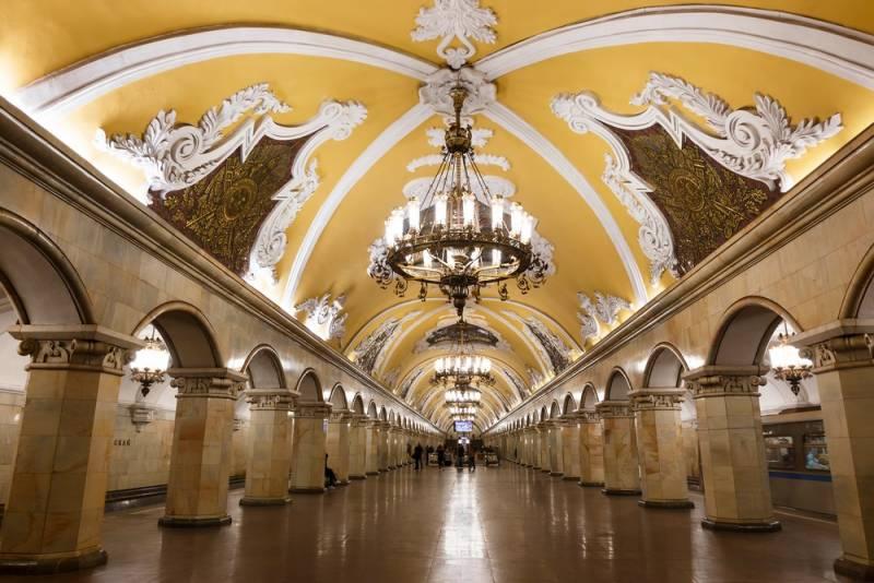 モスクワの地下宮殿~メトロ駅巡り