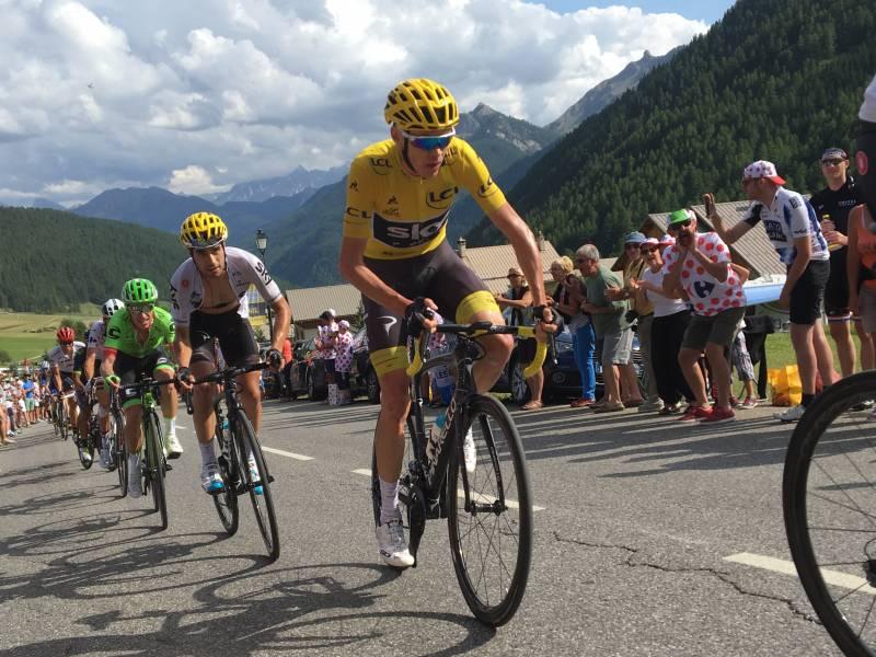 ツール・ド・フランス2018 第12ステージゴール地点 ラルプ・デュエズ