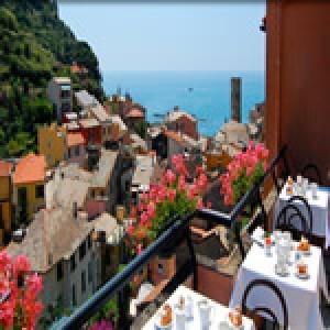 イタリア 新婚旅行におすすめなホテル 第4位 チンクエテッレ Hotel Villa Steno