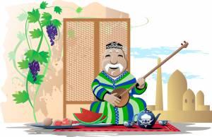 タジキスタンの楽器