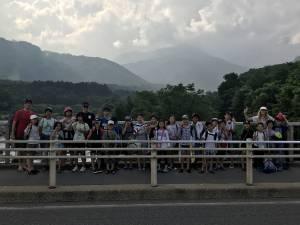 2019.7.28. - 8.2. イングリッシュキャンプin白馬 2日目 *川遊び
