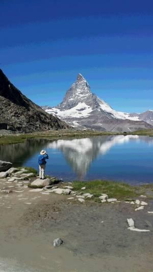 天候に恵まれた夏のスイスアルプスと街歩き!
