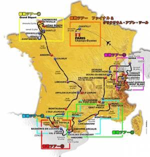 2016年、ツールドフランスのグランデパールは「モンサンミッシェル」です!!