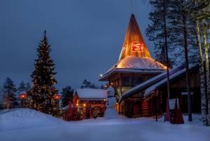 毎日がクリスマス?サンタクロース村
