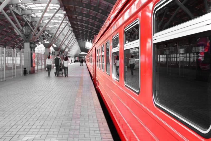 ロシアの鉄道に乗ってみよう!