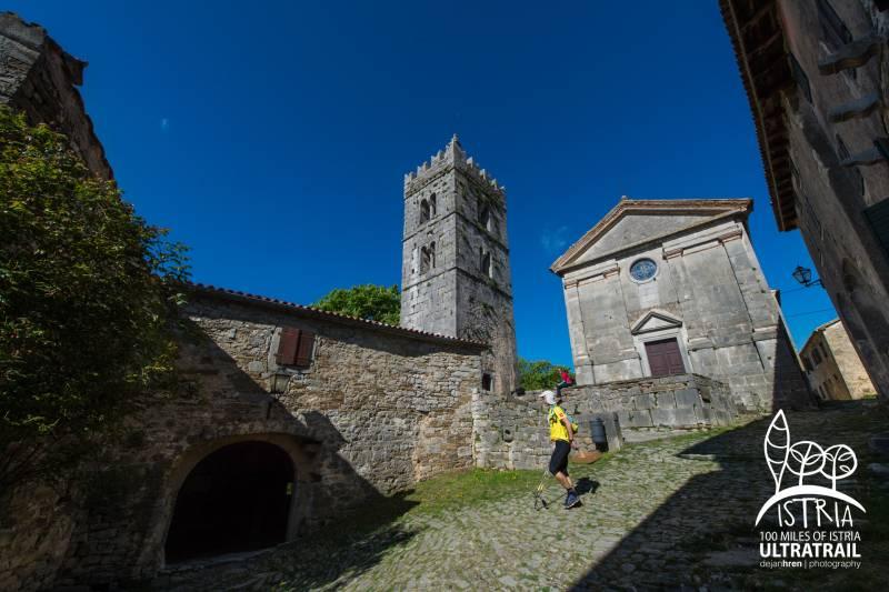 イストリア100ウルトラトレイルの舞台、イストリア半島の石造りの村々 inクロアチア