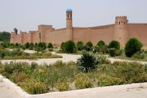 タジキスタン・フルブク遺跡