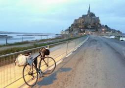 3月~10月、毎週日曜出発【フランス】11泊12日、パリ~モンサンミッシェル自転車ツーリングツアー(現地発、セルフガイドツアー、ガイドなし)