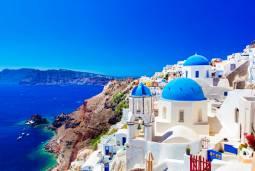 ギリシャ2か国ハネムーン(新婚旅行)♡イタリア・カプリ島「青の洞窟」&サントリーニ島で過ごす現地7日間