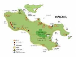 世界ランキングベスト5ビーチアンセラジヲと世界自然遺産 プララン島ツアー