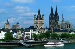 ドイツとベルギーの世界遺産めぐり 6日間