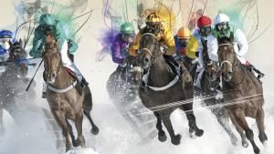 世界一美しい雪上の競馬レース ~ホワイトターフ~ White Turf