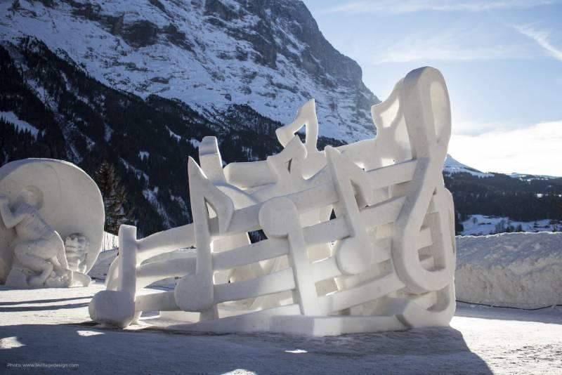 グリンデルワルトの「ワールド・スノーフェスティバル」