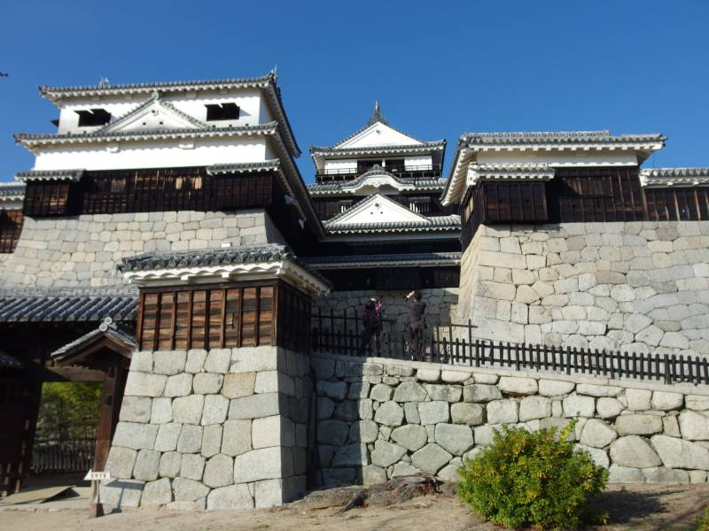 日本の美しいお城 その2 二つの松山城