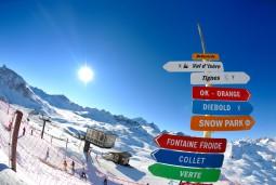 フランスアルプスで1年中滑れるティーニュ、スキーバカンス1週間