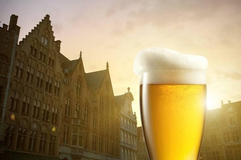 ブルージュでビール祭り