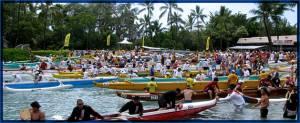 ハワイ島で世界最大の長距離カヌーレース開催!