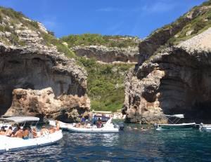 青の洞窟ツアーが一番楽しかったです!