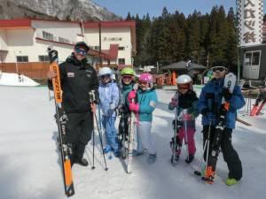 English Ski Camp - Day 2
