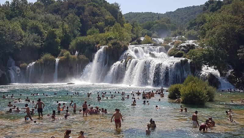 クロアチアにはこんな国立公園もありますよ~