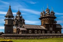 ロシア2大都市世界遺産キジ島7日間