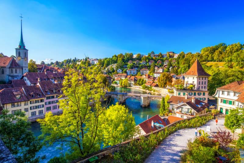 美しいスイス世界遺産の町ベルンのビュースポット! TOP5