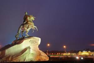 サンクトペテルブルグ:青銅の騎士