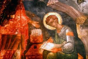 「ヨハネの黙示録」が書かれたパトモス島