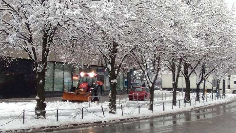 クロアチアはようやく本当の冬の季節?!