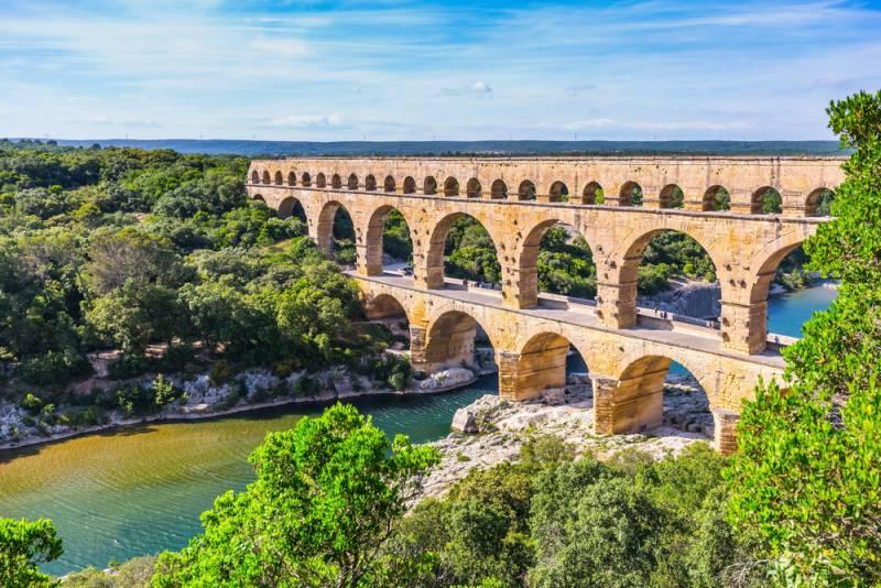 2019年ツールドフランス観戦ツアー アルプス山岳ハイライト 「世界遺産の橋ポン・デュ・ガール」