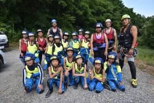 English Camp 3日目(7月31日) 教室授業とShower Wakling