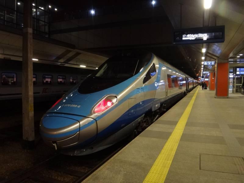 ポーランドを鉄道で周遊しました