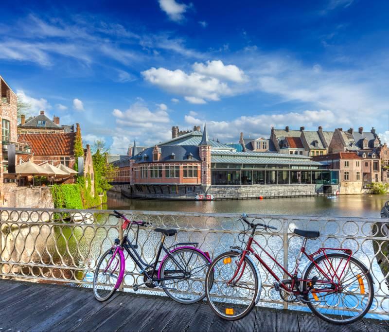 ベルギー サイクリング♪