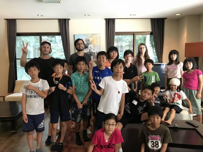 English Camp 6日目(8月3日) 発表会