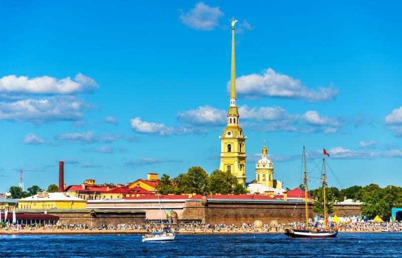 サンクトペテルブルグ発祥の地:ペトロパヴロフスク要塞