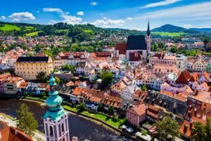 ウィーンからプラハへ ブダペストへ チェスキー・クルムロフへ