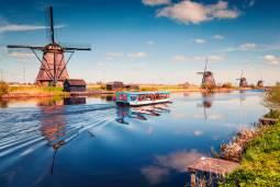 オランダ・ベルギーの旅 6日間 ~美術館めぐり・風車・人気都市観光~