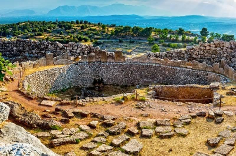 シュリーマンの発見を辿るペロポネソス半島&アテネ