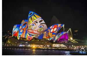 シドニーの夜空を彩る光のイベント 「ビビッド・シドニー」